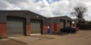 Row of Modern Industrial Units Arley